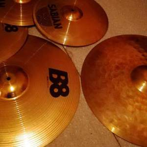 Sabian b8 hi-hat + ride в Донском