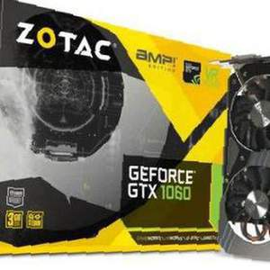 Видеокарта Zotac GeForce GTX 1060 3GB в Москве