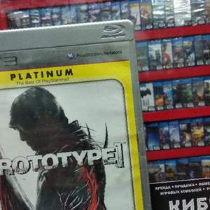 "Игра на PS3 ""Prototype"" в Шамхале"
