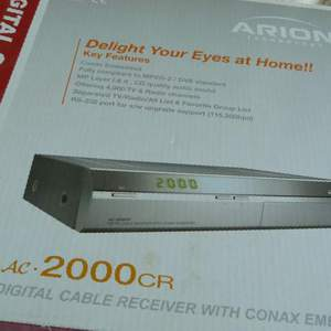 Ресивер DVB-C Arion AC-2000CR в Чехове